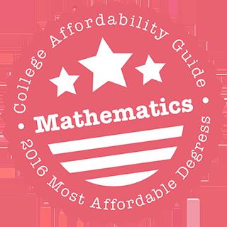Affordable Mathematics Degrees