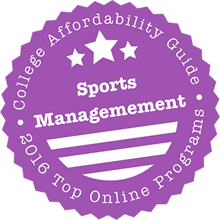 2017 Top Online Schools for Sports Management