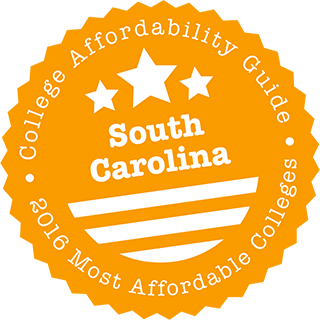2016 Most Affordable Colleges in South Carolina