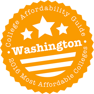 2016 Most Affordable Colleges in Washington