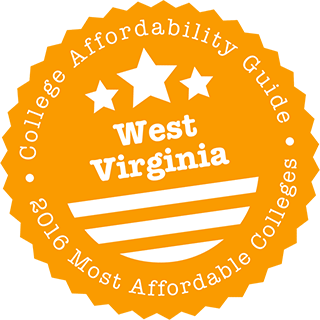 2016 Most Affordable Colleges in West Virginia