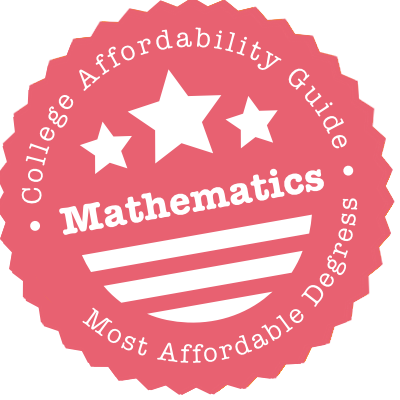 Affordable Mathematics Degrees