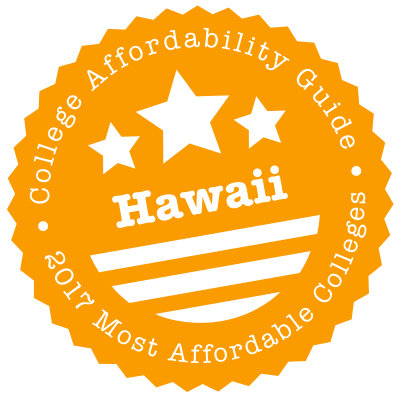 2017 Most Affordable Colleges in Hawaii
