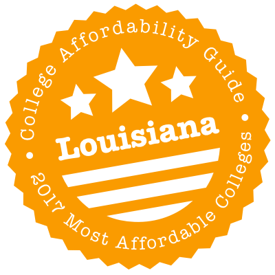 2017 Most Affordable Colleges in Louisiana
