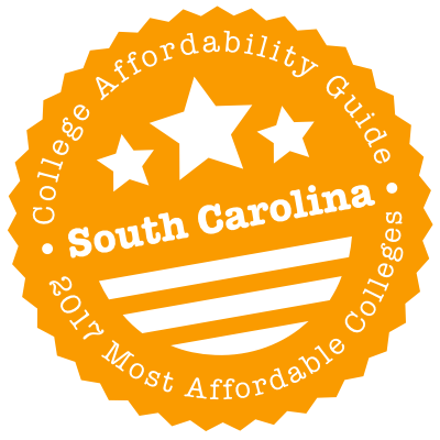 2017 Most Affordable Colleges in South Carolina