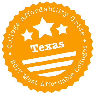 2017 Most Affordable Colleges in Texas