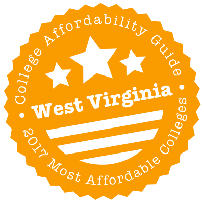 2017 Most Affordable Colleges in West Virginia