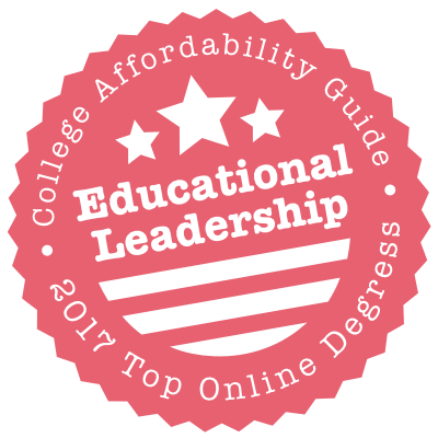 2017 Top Online Schools for Educational Leadership