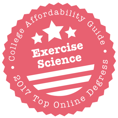 2017 Top Online Schools for Exercise Science