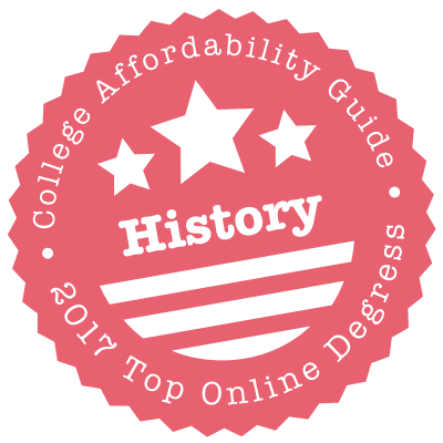 2017 Top Online Schools for History
