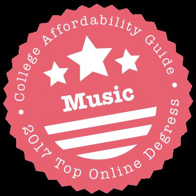 2017 Top Online Schools for Music